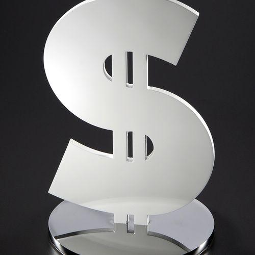 Thierry Corpet Thierry CORPET by Poulpik Studio  Dollar White  Sculpture en acie…