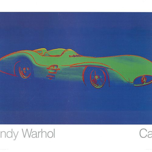 ANDY WARHOL Andy Warhol (1928 1987) (d'après)  Formule 1 Mercedes Benz W 196  Ti…