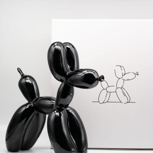 Editions Studio Editions Studio d'après Jeff Koons  Balloon Dog  Sculpture en ré…