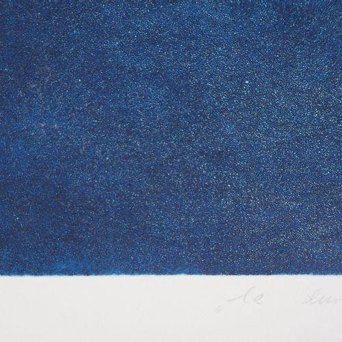 Teresa Panasiuk Teresa PANASIUK  La lune  Gravure originale à l'aquatinte  Signé…