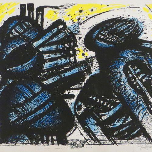 John CHRISTOFOROU John CHRISTOFOROU (1921 2014)  Sans titre  Lithographie numéro…