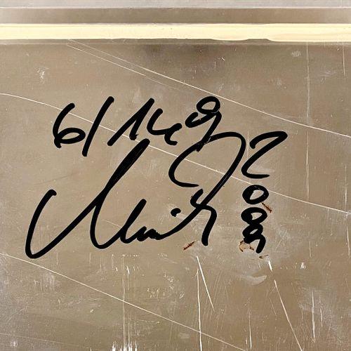 Devin Miles Devin Miles 总统, 2008    拉丝铝上的混合媒体  手写签名,编号为6 / 149份  状况非常好,50 x 50厘米…