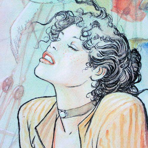 Milo Manara Milo Manara (1945 )  Molly Malone  Impression numérique  Signature a…