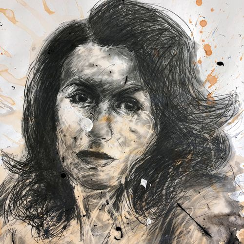 Philippe PASQUA Philippe PASQUA  无题》,2010年     绘图   混合媒体:印刷品 丙烯酸,纸上墨水   由艺术家签名的作…