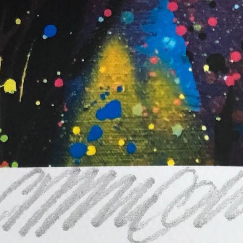 C215 C215   回头看,2020年     数码打印在康森纸上。   签名:C215和公正的E.A 只有10份是注释的艺术家证明。   由艺术家压印和盖…