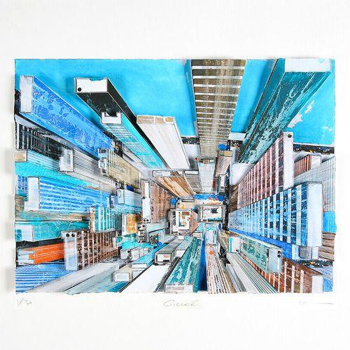 Gottfried SALZMANN Gottfried Salzmann  New York, 2018     Impression d'Art Haute…