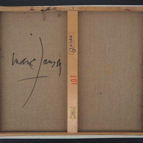 Marc JANSON 马克 詹森(1930 )  超现实主义景观  布面油画  右下方有签名  背面反签  画布上46×55厘米  状况极佳    拍品将由我…