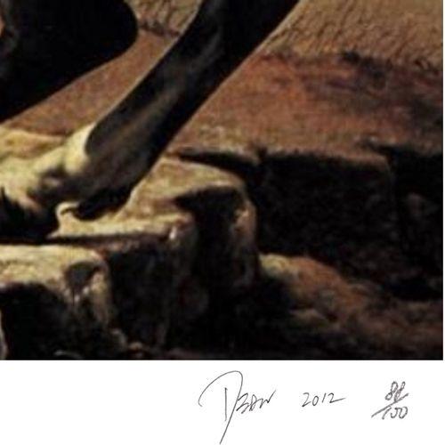 Death NYC 纽约市的死亡  阿尔卑斯山, 2012  丝网印刷  限量版 日期为2012年  由艺术家用铅笔签名并编号:编号A/P  尺寸:45x32c…