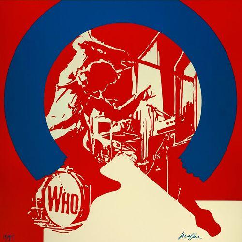 Ivan MESSAC Ivan MESSAC  The Who  Sérigraphie originale  Signée par l'artiste en…