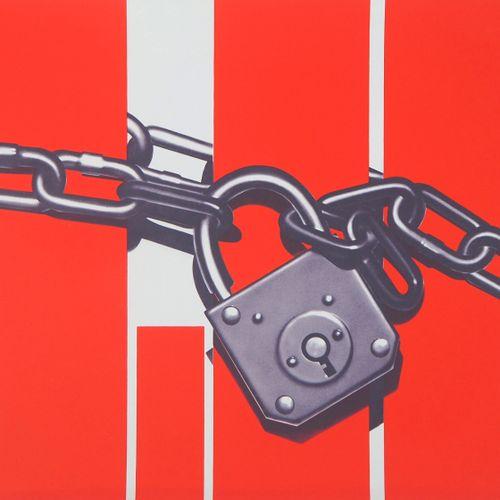 Peter Klasen Peter KLASEN  红色盒装  原始石版画  铅笔签名的艺术家  牛皮纸上,35.5 x 52.5厘米  编号为150的  状…