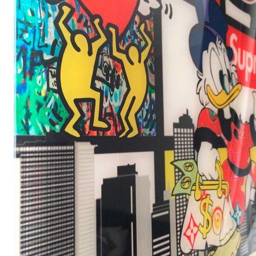 SAM Sam   Mondrian City, 2020   Impression digitale sous plexiglass   Edition de…