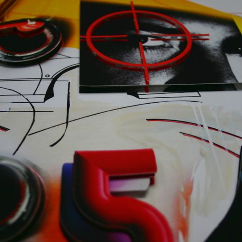 Peter Klasen 彼得 克拉森(1935)《凝视目标》。  2016年的3D石版画  在30本上编号并有艺术家的亲笔签名  尺寸:61 x 52 cm …
