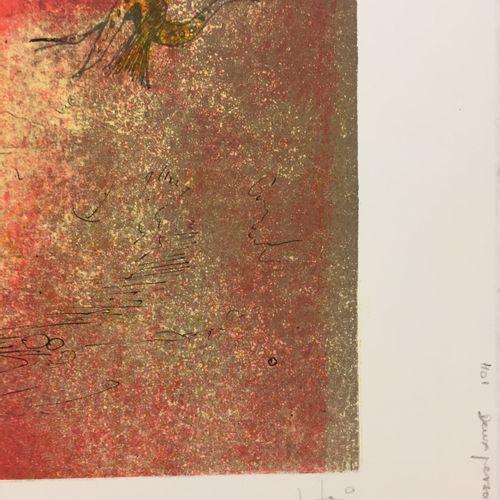 LEBADANG 勒巴当   两个数字   Rives纸上的石版画   铅笔签名的艺术家   艺术家的证明,编号为EA XXIII / XXXV   版本375…
