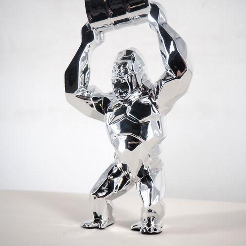 Richard Orlinski Richard ORLINSKI  Kong Oil Spirit  Sculpture originale en résin…