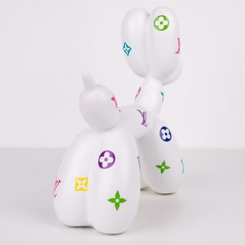 Shakeart83 Shakeart83  Balloon Dog, 2021  Sculpture en résine  20 x 19 x 7.5 cm …