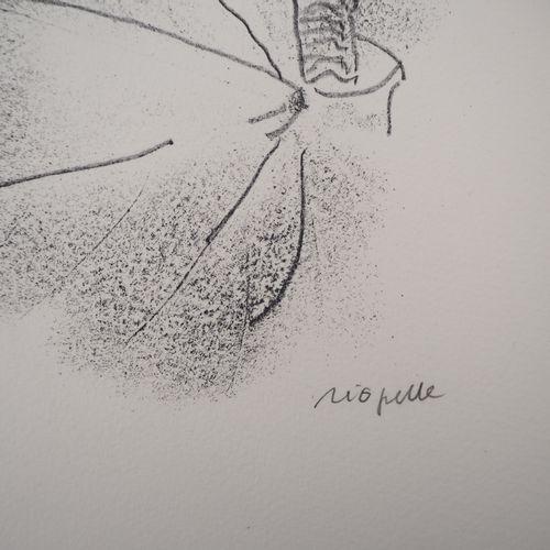 Jean Paul RIOPELLE Jean Paul RIOPELLE  尼利根,叶子之王,1979年  原始石版画  用铅笔签名  Arches编织纸上 …