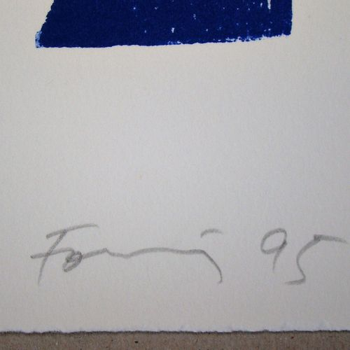Günther Förg Günther FÖRG (1952 2013)  Sans titre, 1995  Bois gravé original en …