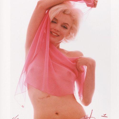 Bert STERN Bert Stern  Marilyn Pink Angel, 2012  tirage sur papier photo  techni…