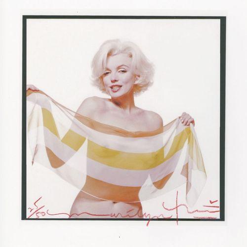 Bert STERN Bert STERN  Marilyn in the slanted scarf, 2012  tirage sur papier pho…