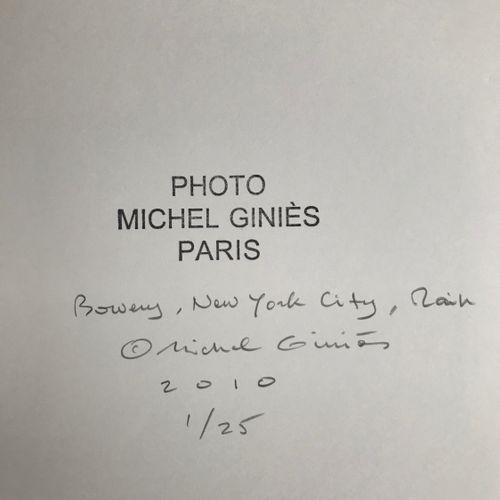 MICHEL GINIES Michel GINIÈS   Bowery, New York City, Main, 2010     Tirage argen…