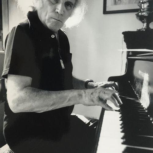 Bruno BACHELET Bruno BACHELET (né en 1949)  Léo Ferré chez lui en Toscane, 01 ju…