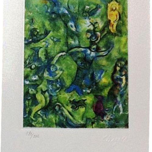 Marc Chagall Marc CHAGALL (d'après)  Mille et une nuits, 1985  Lithographie sur …