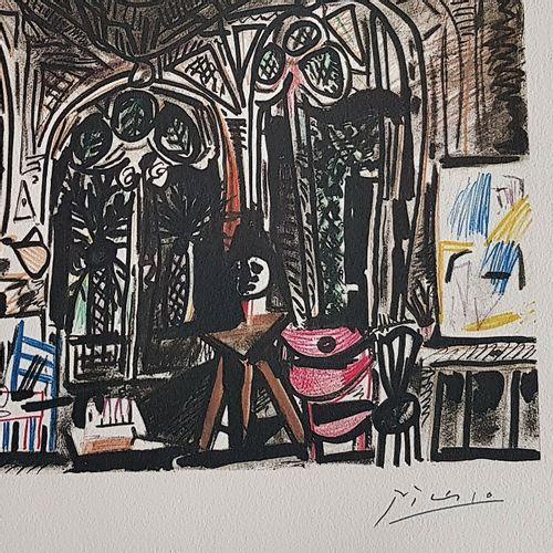 Pablo PICASSO Pablo Picasso (1881 1973) (d'après)  l'Atelier de la Californie   …
