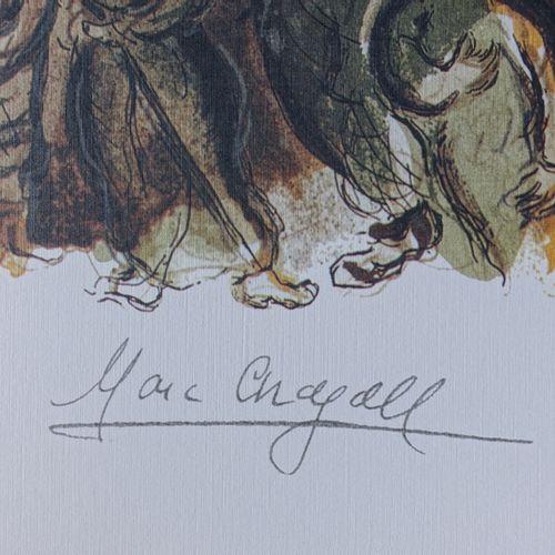 Marc Chagall Marc CHAGALL (1887 1985) (d'après)  Moïse et les tables de la loi  …