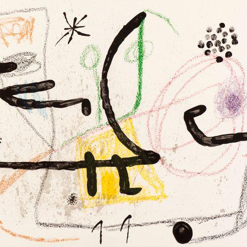 Joan Miro Joan MIRO (1893 1983)  Maravillas con variaciones acrosticas 9, 1975  …