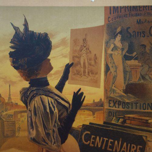 LES MAÎTRES DE L'AFFICHE Maîtres de l'affiche (Planche 66)  Lithographie origina…