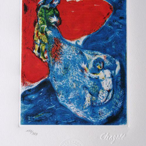 Marc Chagall Marc CHAGALL (d'après)  Mille et une nuits, 1985     Lithographie s…