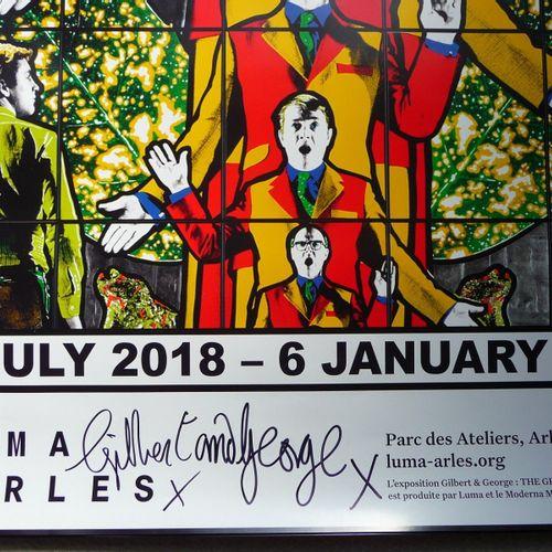 GILBERT & GEORGE Gilbert et George  Luma Arles 2018 2019  Affiche signée  The Gr…
