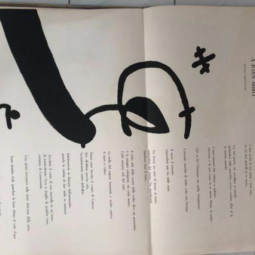Joan Miro 琼 米罗 (1893 1983)  Ma de Proverbis, 1970     艺术家的书,配有米罗的7幅作品的插图,1970年,版…