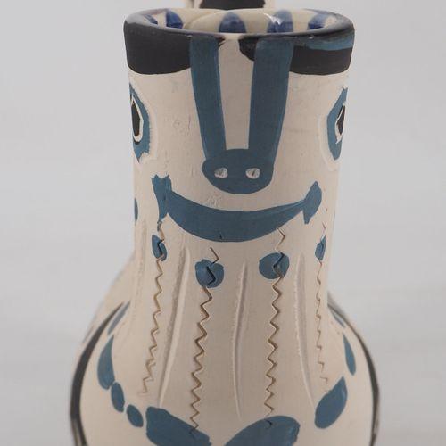 Pablo PICASSO Pablo Picasso  Spanish pitcher, 1954  White earthenware pitcher, d…
