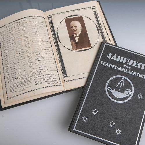 2 Jahrzeits u. Trauer Andachtsbücher einer jüdischen Familie (1925), dem Andenke…