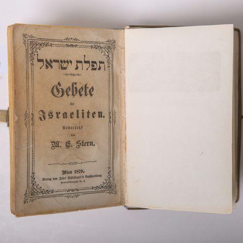 """Stern, M.E., """"Gebete der Israeliten"""" (Prières des Israélites), dans une splendid…"""