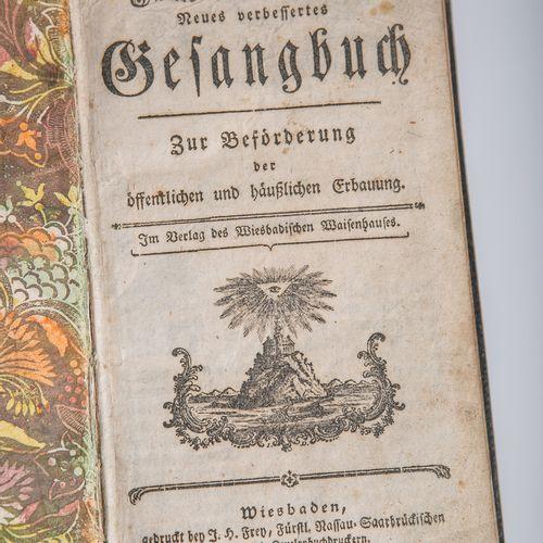 Fürstl. Nassauisches neues verbessertes Gesangbuch zur Beförderung der öffentlic…