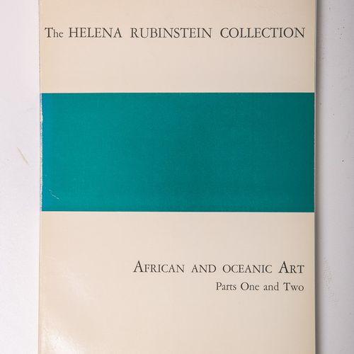 """Catalogue de vente aux enchères des Galeries Parke Bernet """"The Helena Rubinstein…"""