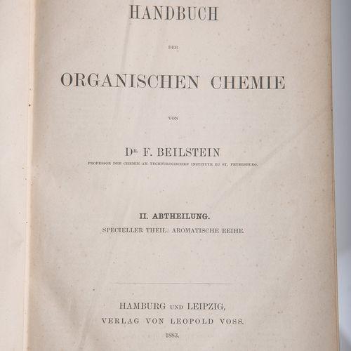 """Beilstein, F. Dr., """"Handbuch der organischen Chemie"""", 2e division, partie spécia…"""