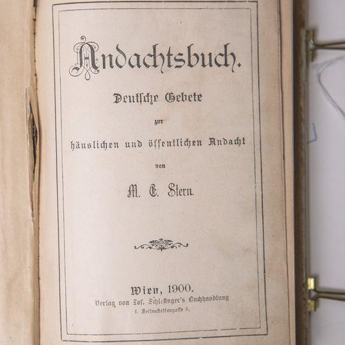 """Stern, M.E., """"Andachtsbuch. Deutsche Gebete zur häuslichen und öffentlichen Anda…"""