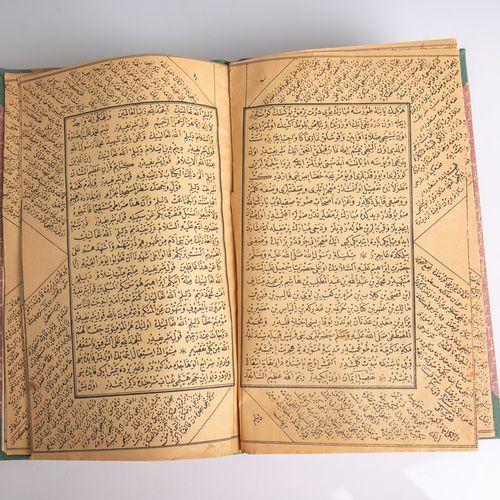 Petit livre/carnet avec un total de 38 pages manuscrites (âge et origine inconnu…