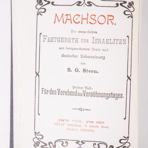 """""""Maehsor. The Complete Festival Prayers of the Israelites"""", 3e partie : Pour la …"""