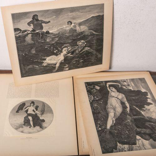 """Portfolio """"Meisterwerke der Holzschneidekunst"""", Neue Folge, Heft 5 (d'après Arno…"""