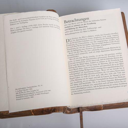 """Von Carolsfeld, Julius Schnorr, """"Die Bibel in Bildern, Edition arte medici"""", ex …"""