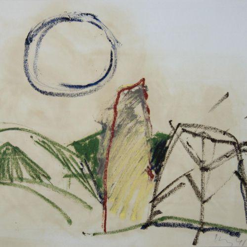 Konvolut. Unbekannter Künstler, Aquarell, 1997 混合地段。未知艺术家,水彩画,1997年,日期,纸张:42 x 2…