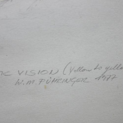 Walter Michael Pühringer (österreichisch, geb. 1945) Erotic Vision (yellow to ye…