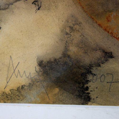 Zeitgenössischer Künstler, o.T., 2007, Aquarell a. Papier 当代艺术家,o.T.,2007年,纸上水彩,…