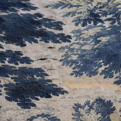 Tapisserie, Brüssel, 16. 17. Jh. Waldszene mit Blick auf den See Tapisserie, Bru…