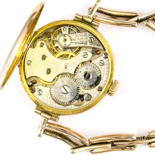 Uhr, Damenarmband Abenduhr, 333er Rotgold, Rolex, 1916 Montre, montre du soir à …
