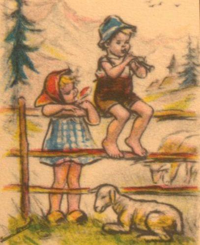 GERMAINE BOURET Modern slipcase album containing 96 small format colour illustra…